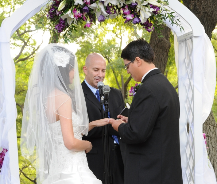 Cost for a Wedding Officiant in Los Angeles County